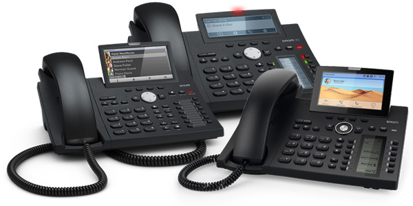 Snom Desk IP Phones